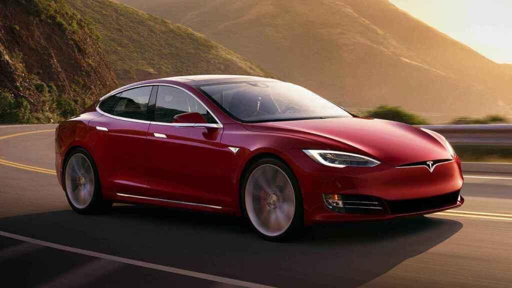 Tesla Model S, un coche 100% eléctrico.