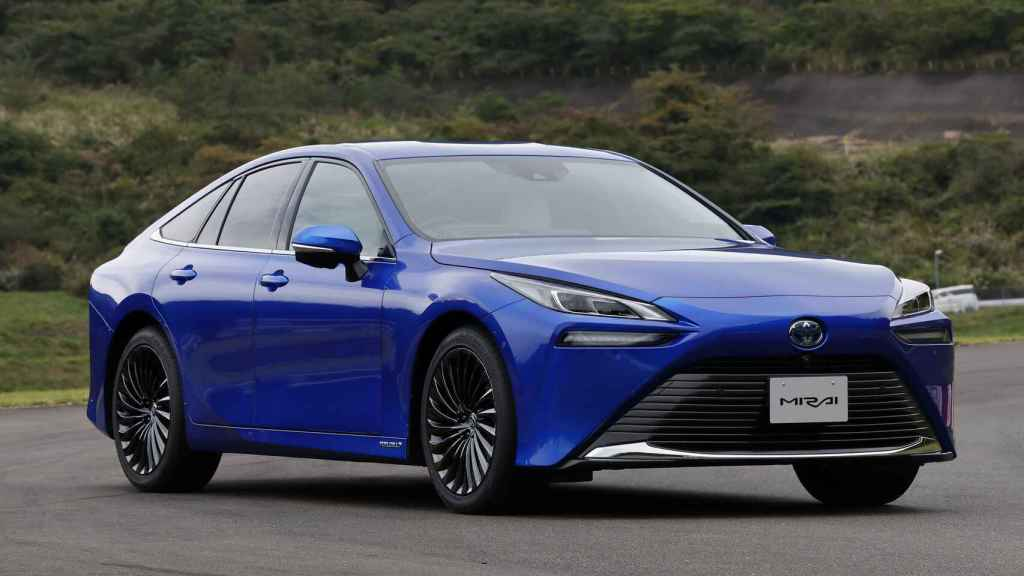 El Toyota Mirai, un coche propulsado por hidrógeno.