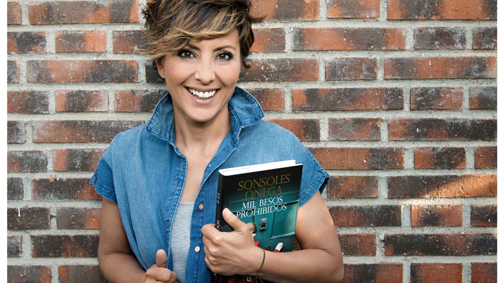 'Mil besos prohibidos' es el último libro de Sonsoles Ónega