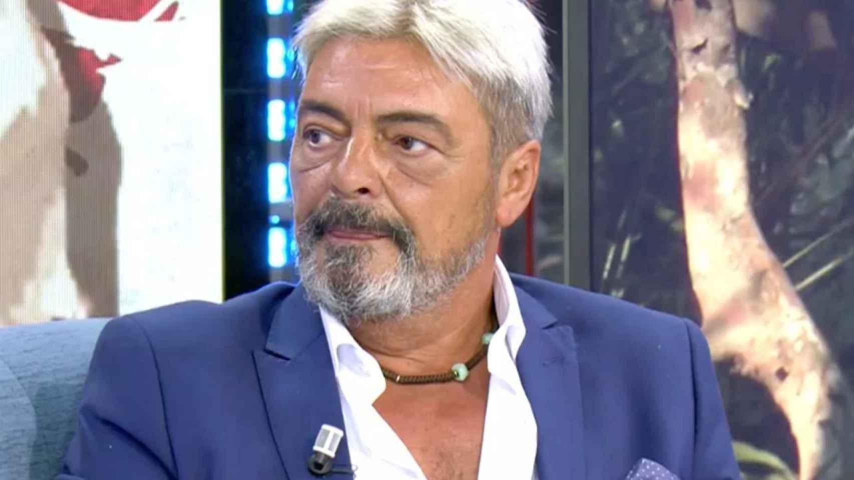 Antonio Canales durante su entrevista en 'Sábado Deluxe'.