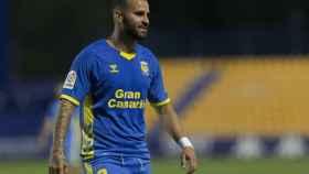 Jesé Rodríguez, en un partido con Las Palmas