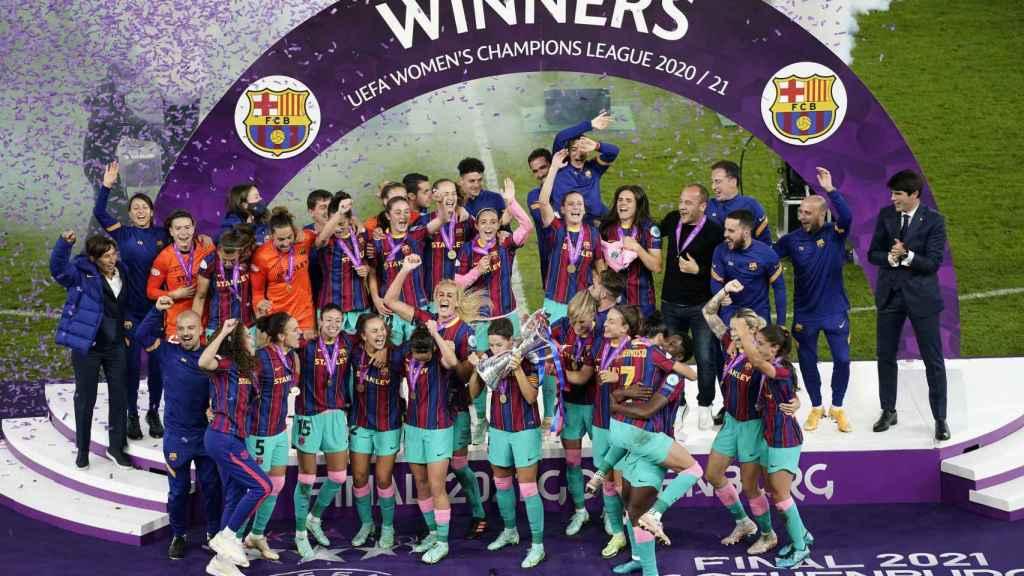 El Barça Femenino, campeón de la Women's Champions League 2020/2021