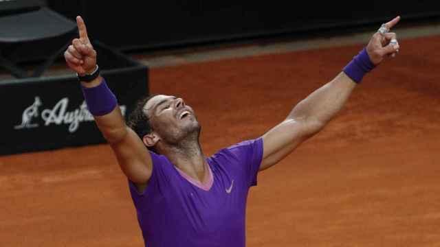 Las mejores imágenes de la final del Masters de Roma entre Novak Djokovic y Rafa Nadal