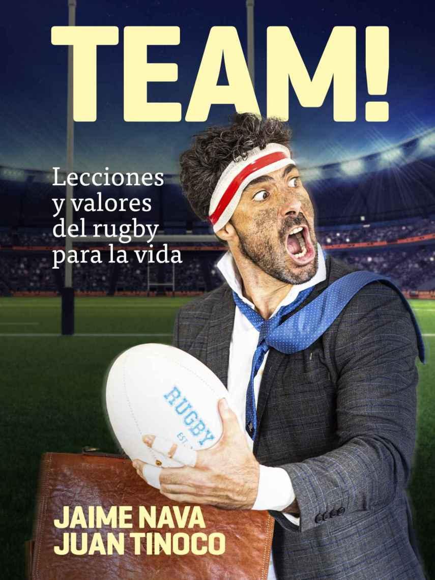 Portada del audiolibro 'TEAM! Lecciones y valores del rugby para la vida'