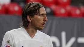 Luka Modric, ante el Athletic Club