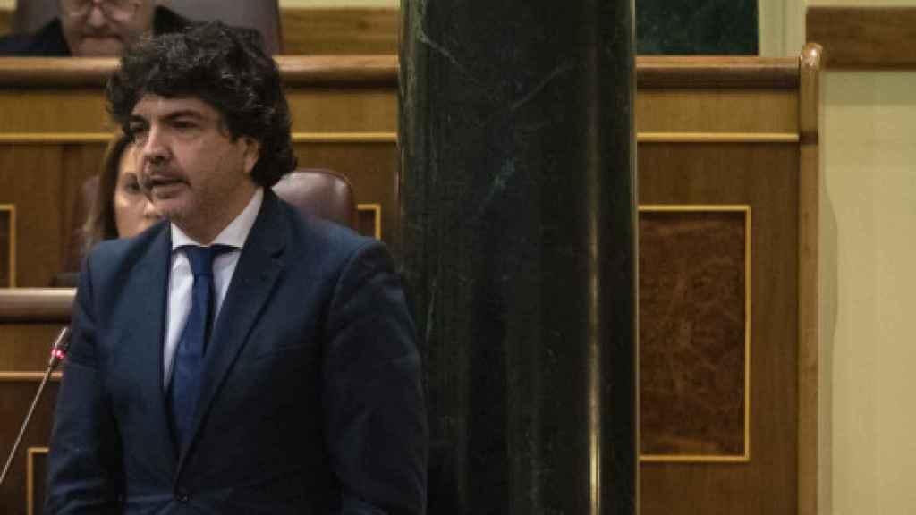 Mario Garcés, portavoz económico del PP en el Congreso.