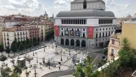 Vista desde uno de los activos de la socimi Almagro Capital en Madrid.