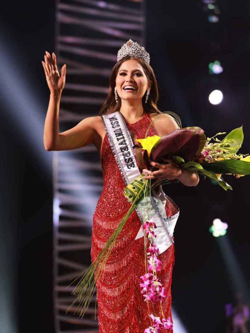 Andrea Meza, Miss México, se coronó este domingo Miss Universo 2021.