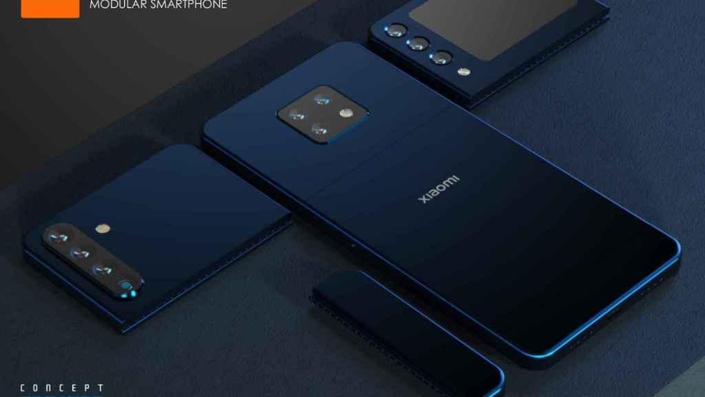 Xiaomi movil modular diseño