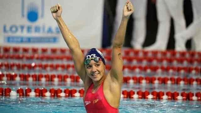 Catalina Corró, durante los campeonatos de España de 2021