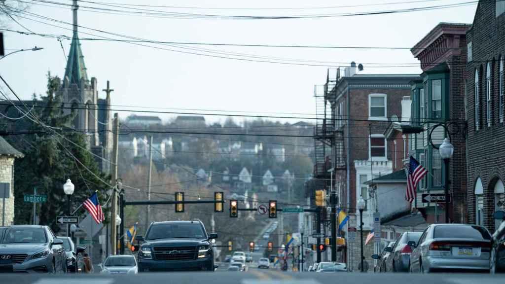 Easttown es un pueblo ficticio de Pensilvania.