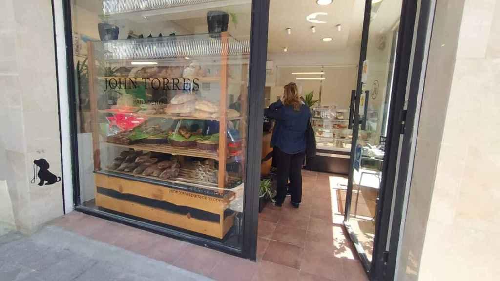 El obrador John Torres Panadero situado en la calle Berasategui, 49 (Madrid).