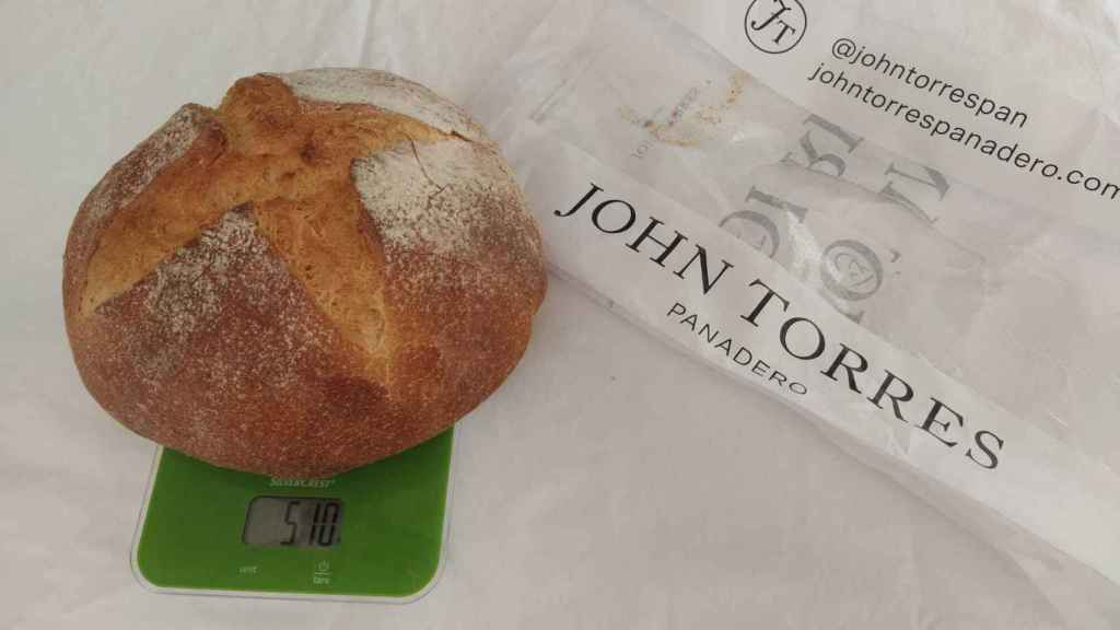 La hogaza de trigo de John Torres Panadero.