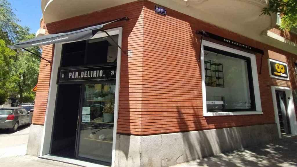 El obrador Pan.Delirio, que está en el número 21 de la calle de Juan Bravo (Madrid).