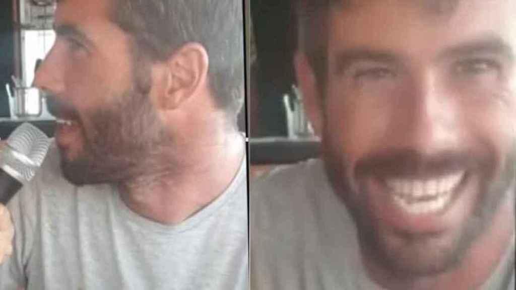 Tomás Gimeno, padre de las niñas desaparecidas hace 21 días.