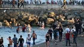 La oleada de inmigrantes en Ceuta.