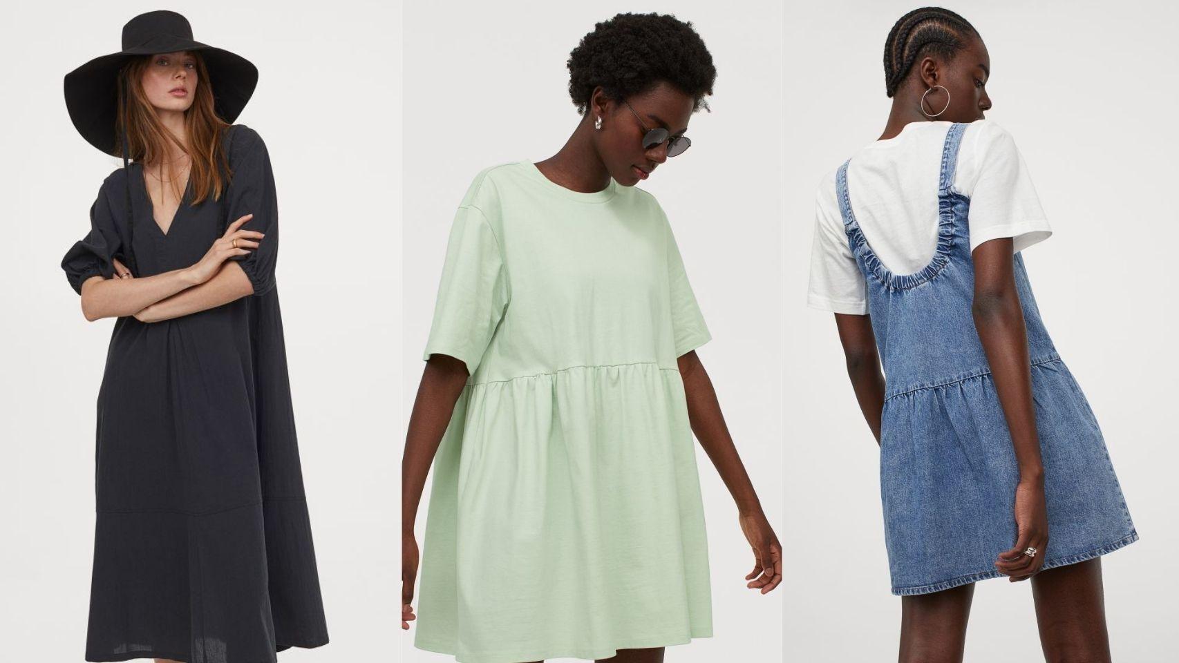 Bonitos y ligeros: los 8 vestidos de H&M que favorecen a todos los cuerpos.