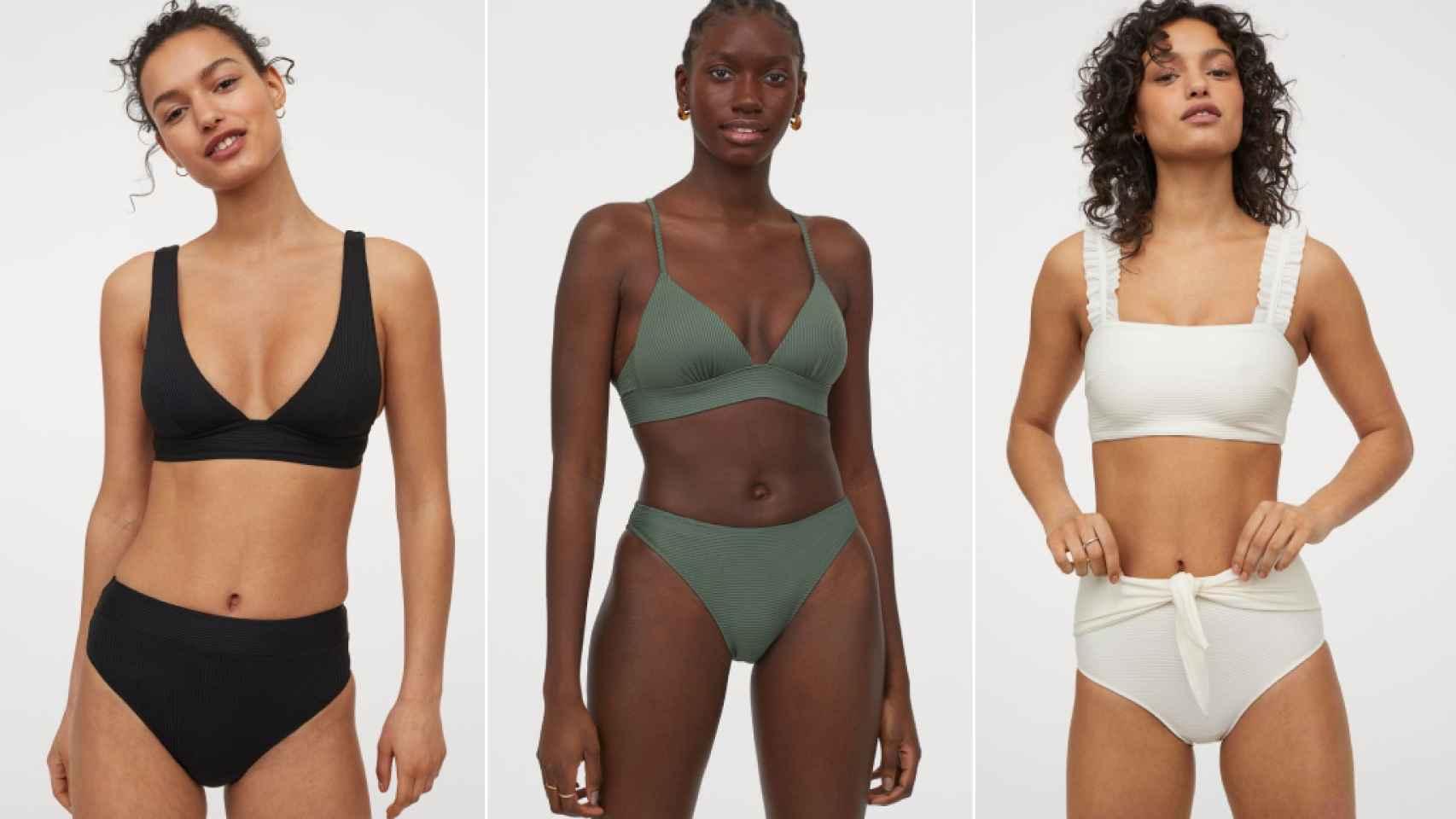 Los bikinis más cómodos de H&M.