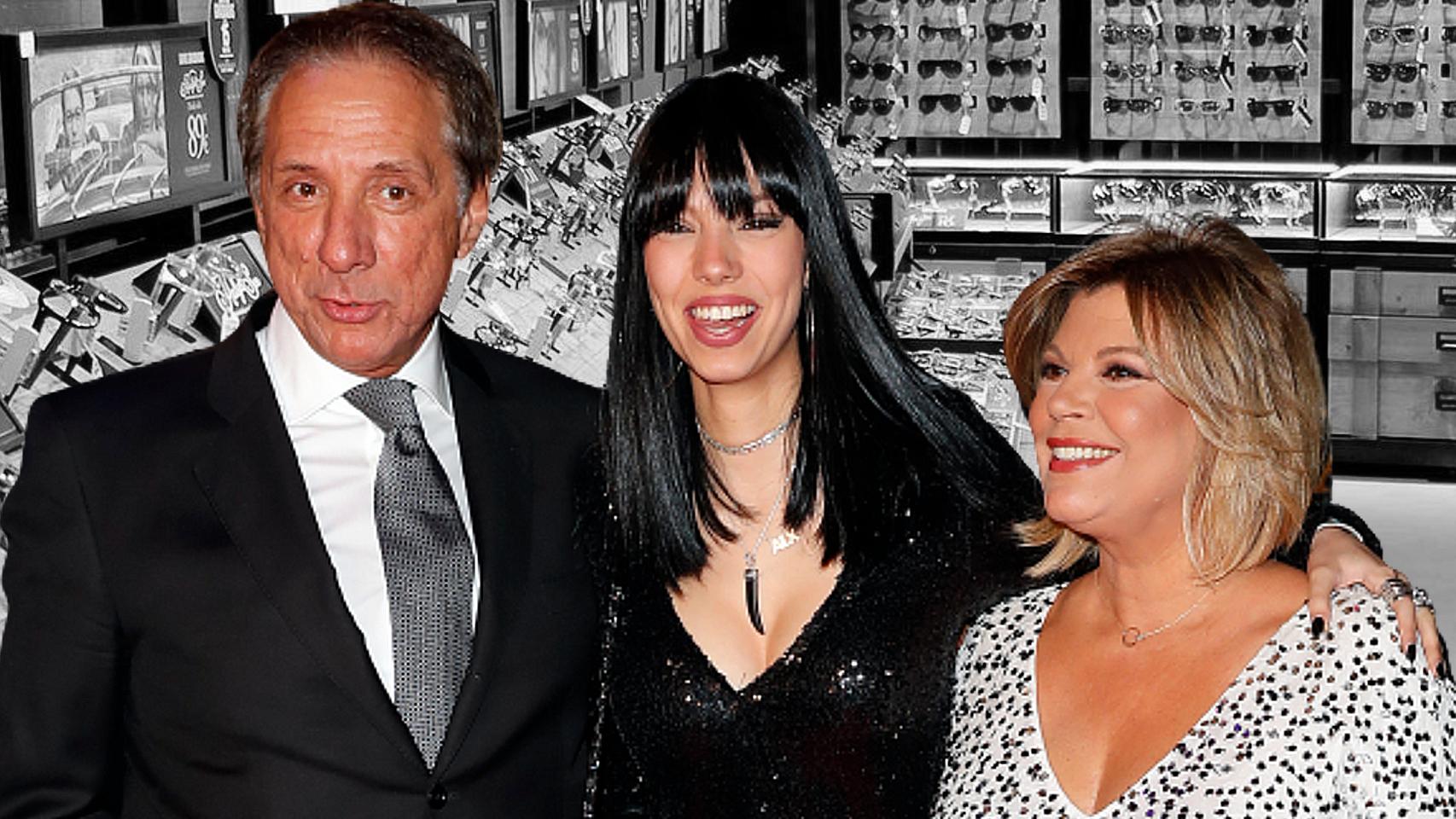 Alejandro Rubio y Terelu Campos junto a su hija, Alejandra.