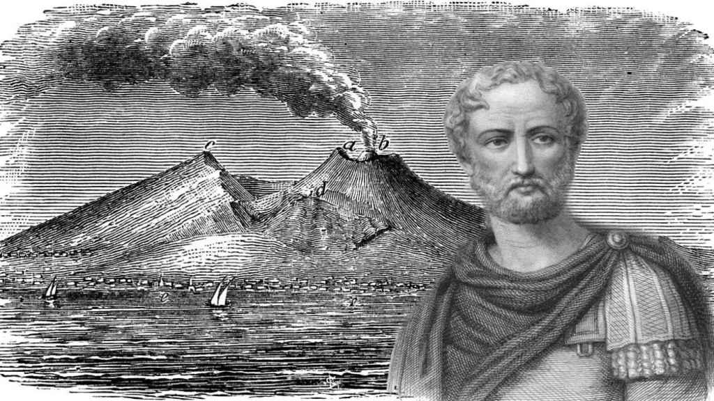 Plinio el Viejo Vesubio