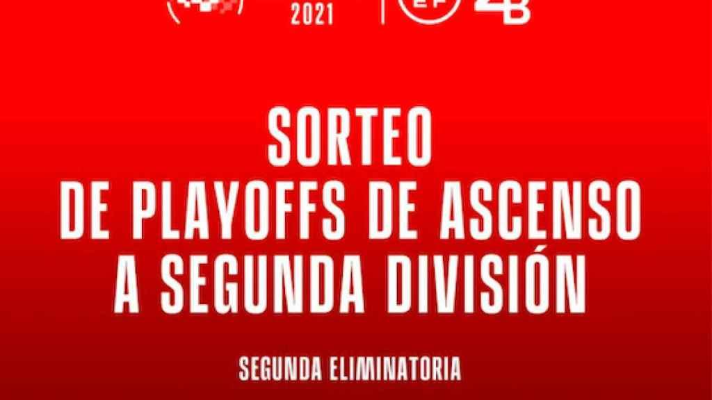 En directo   Sorteo de la fase final del ascenso a Segunda División