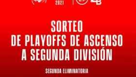 En directo | Sorteo de la fase final del ascenso a Segunda División