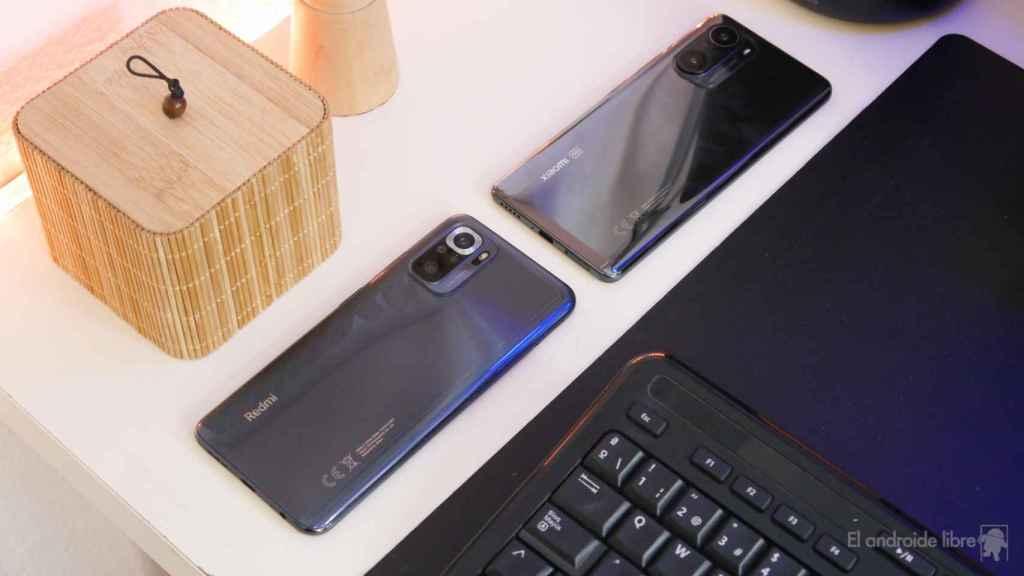 Xiaomi Mi 11i y Redmi Note 10S