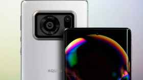 El sensor fotográfico más grande en un movil está en el Sharp Aquos R6