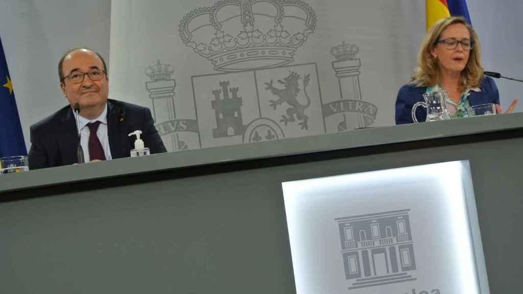 Miquel Iceta, ministro de Política Territorial y Función Pública, en Moncloa.