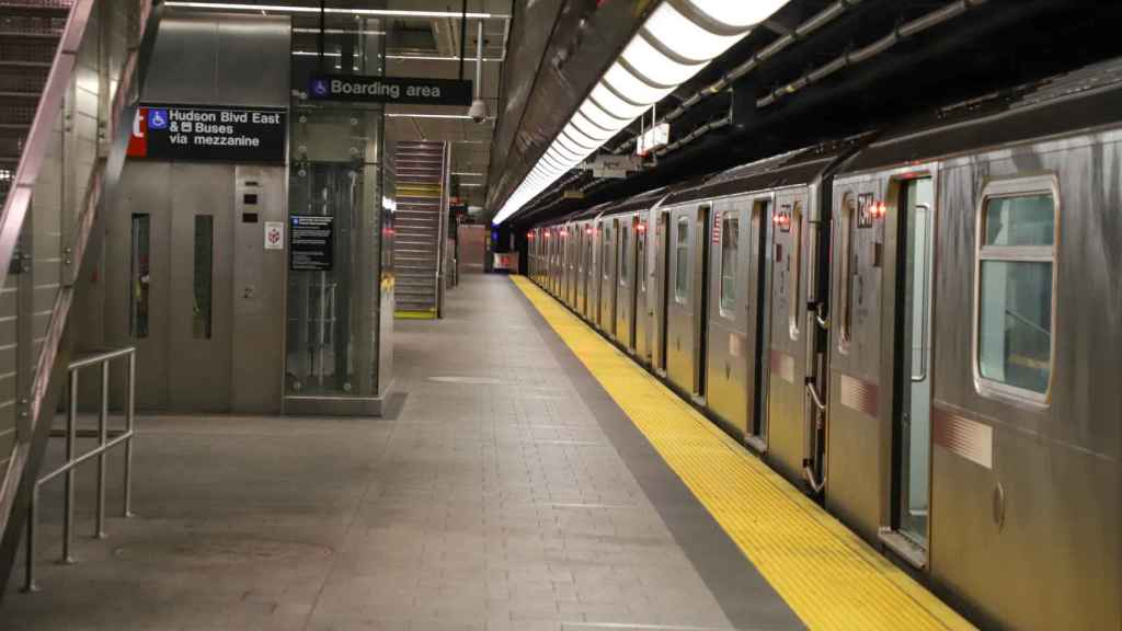 Imagen de recurso del metro de Nueva York.