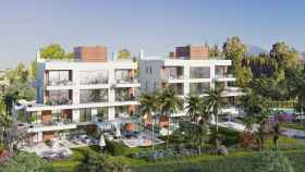 Render del proyecto Benalús que levanta el grupo vasco Gailur en Marbella.