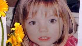 Una de las imágenes difundidas cuando desapareció Madeleine hace ya 10 años. Efe