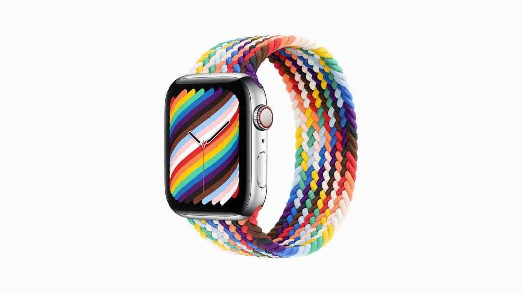 Correa del Apple Watch para el colectivo LGTBIQ+.
