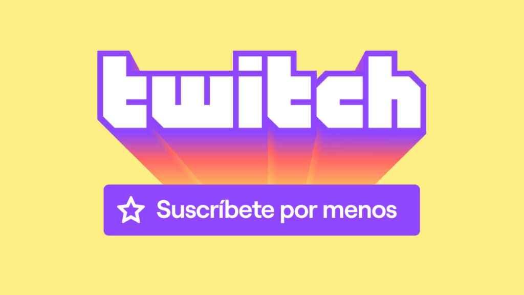 Anuncio de Twitch.