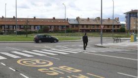 La zona de aparcamientos de León donde se produjeron los hechos.