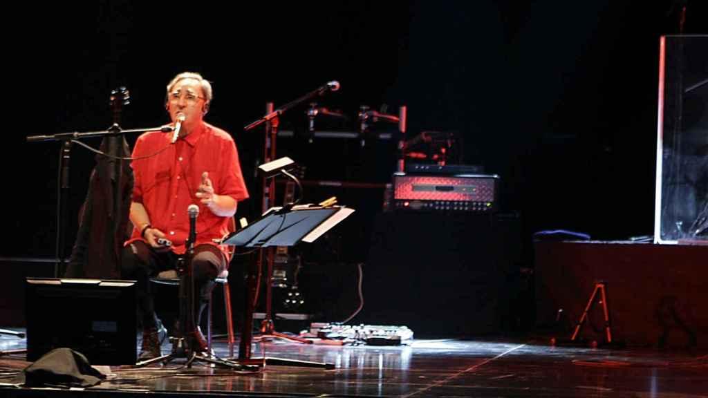 El cantante Franco Battiato.