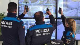 Tres agentes de la Policía Local