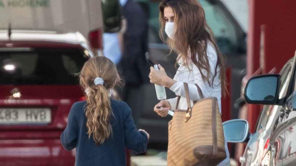 Paloma Cuevas junto a su hija Bianca este pasado fin de semana.