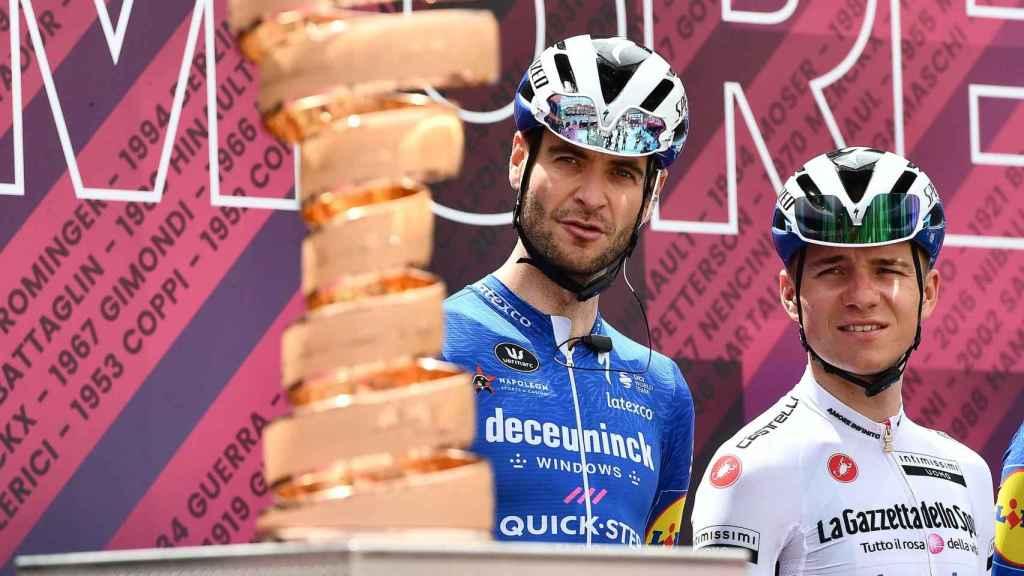 Remco Evenepoel mira el título del Giro de Italia