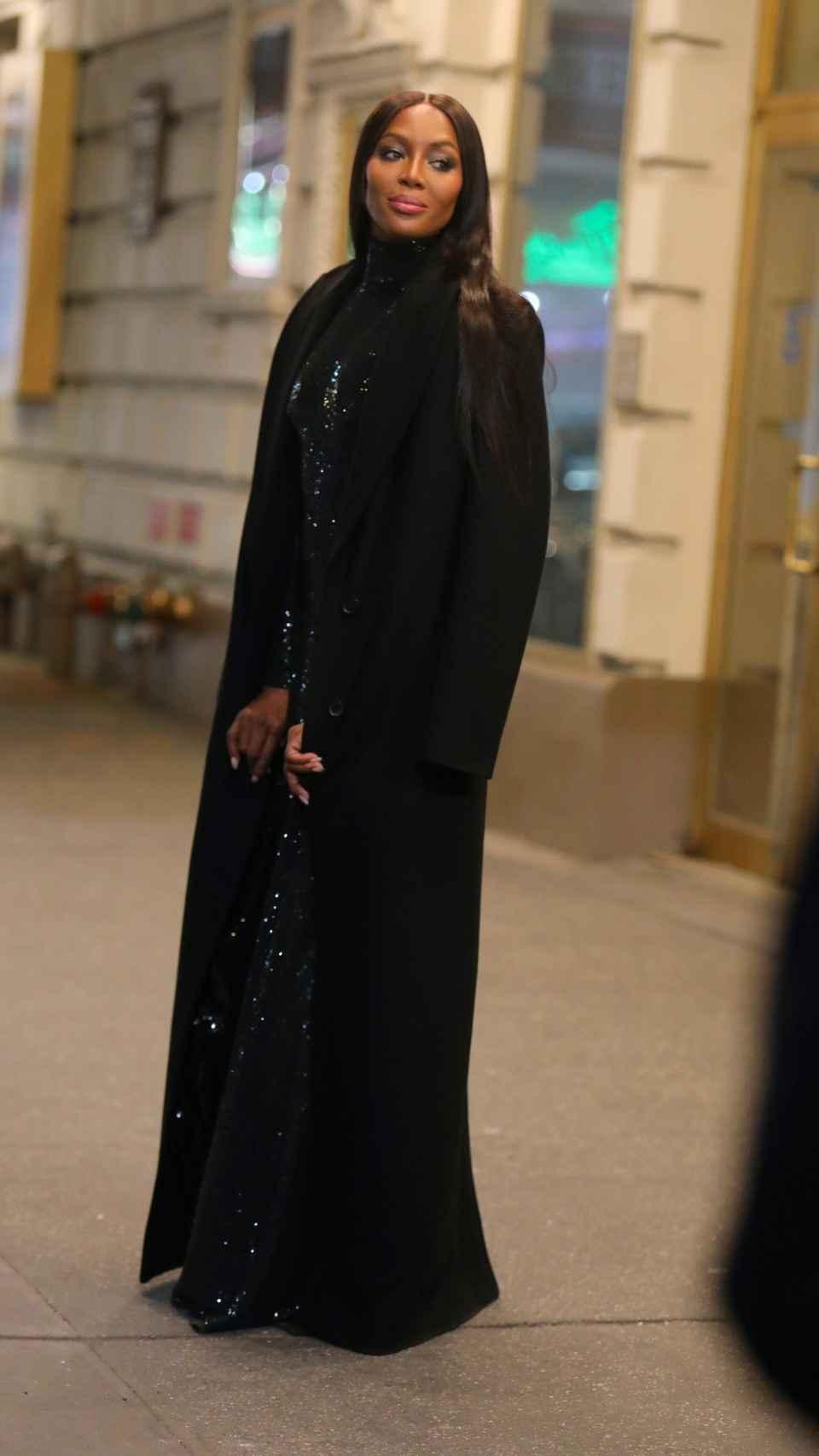 Naomi Campbell durante el 'fashion film' de Michael Kors el pasado mes de abril.