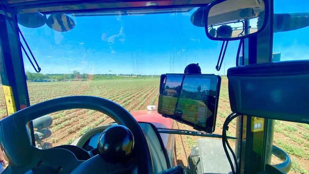 Tractor digitalizado.
