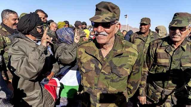 Brahim Ghali, líder del Frente Polisario