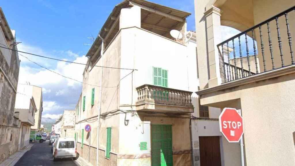 La casa donde han muerto Warda y Mohamed en Sa Pobla (Mallorca).