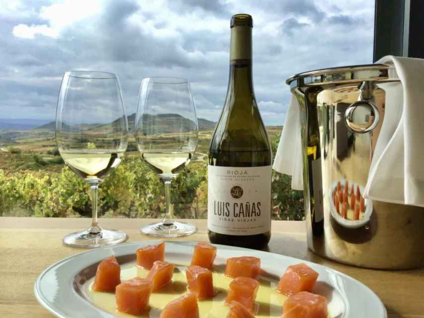 Luis Cañas elabora uno de los grandes vinos blancos de Rioja.