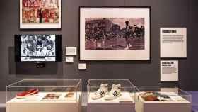 Las zapatillas deportivas se convierten en obra de arte en Londres.