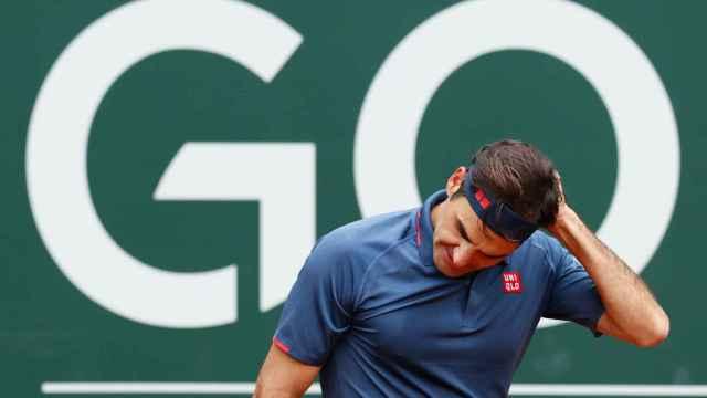 Roger Federer, en el ATP 250 de Ginebra