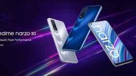 Nuevo realme Narzo 30: pantalla 90 Hz, gran batería y precio ajustado