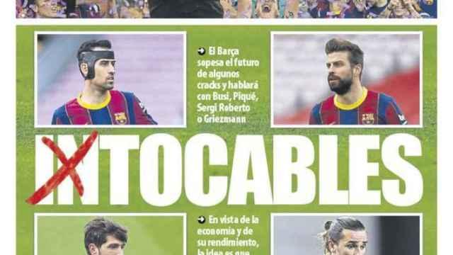 Portada Mundo Deportivo (18/05/21)