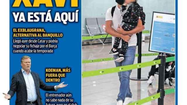 Portada Sport (18/05/21)