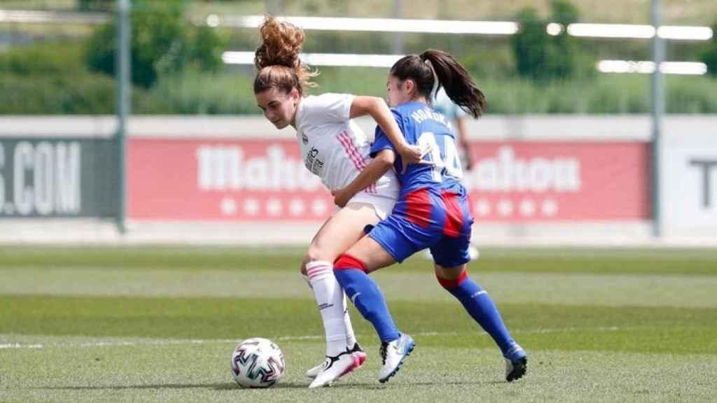 Real Madrid - Eibar, en Valdebebas